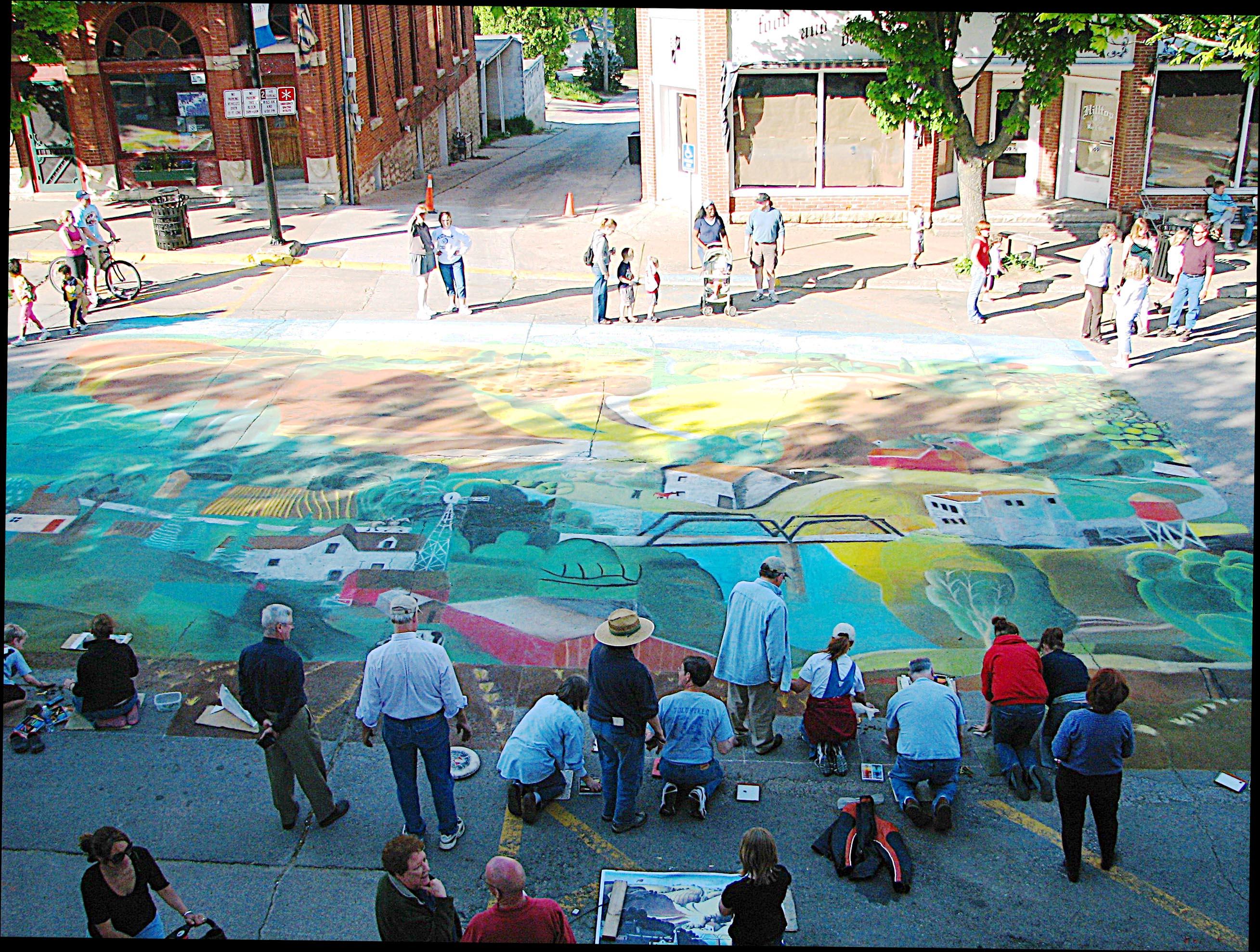 Photo of Chalk the Walk-2006 Stone City