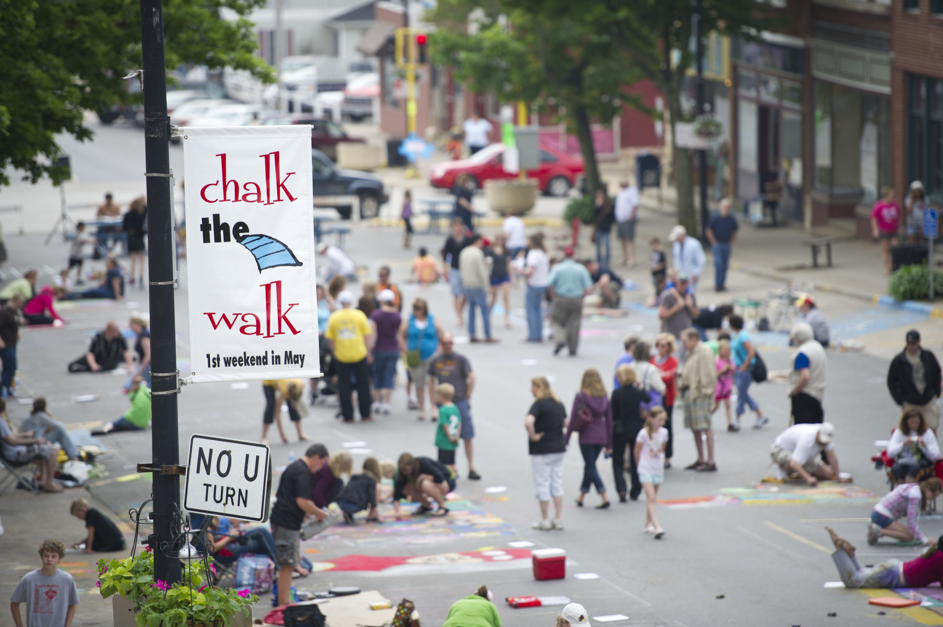 Photo of Chalk the Walk-2009 From the Roof