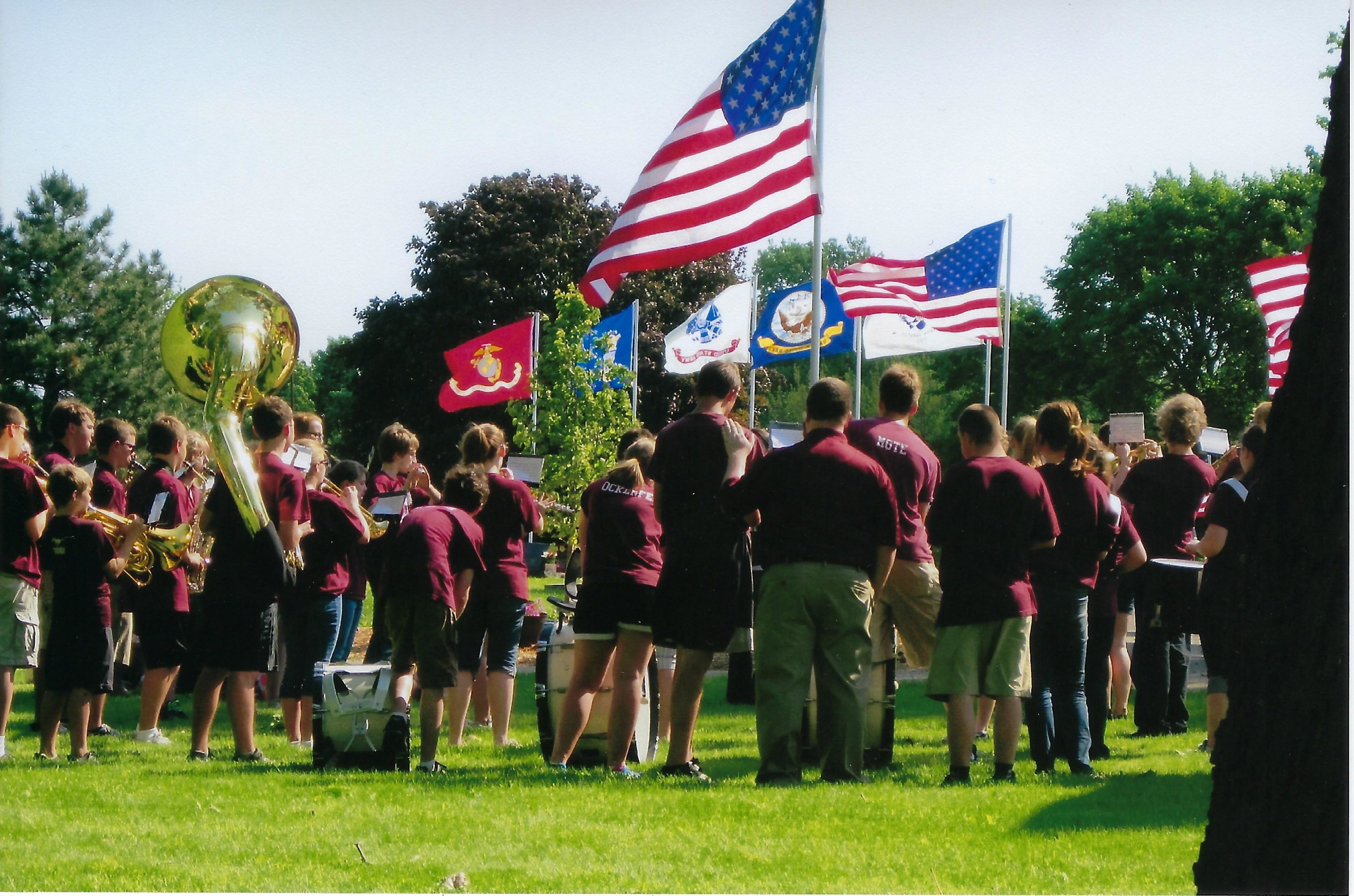 Photo of Memorial Day-2011 Cemetery Service