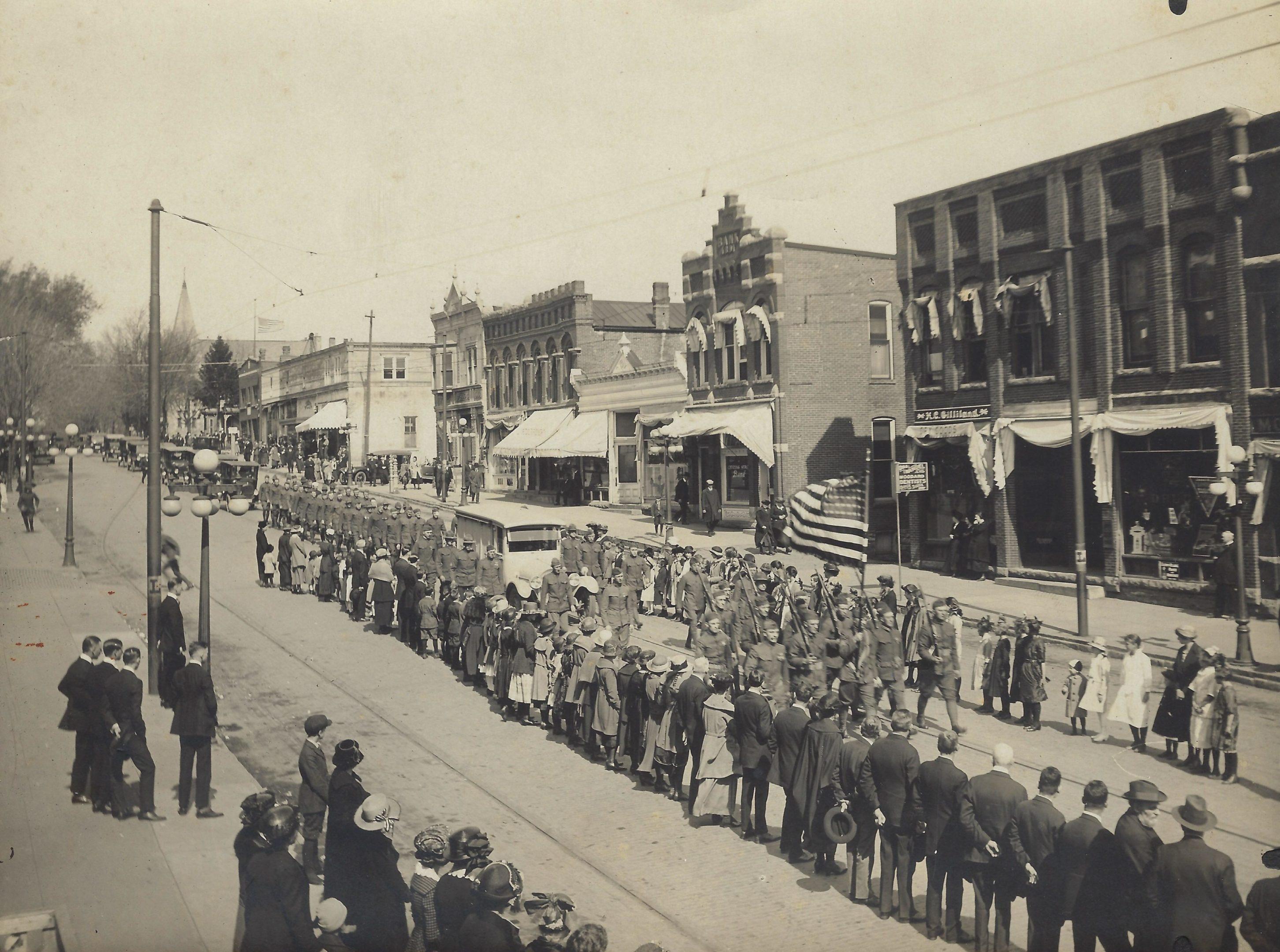 Photo of Joseph Dvorak Funeral 1921