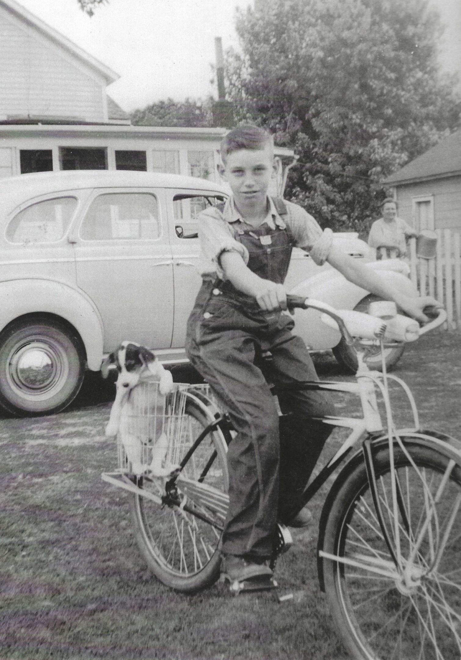 Photo of Bill Connel on bike