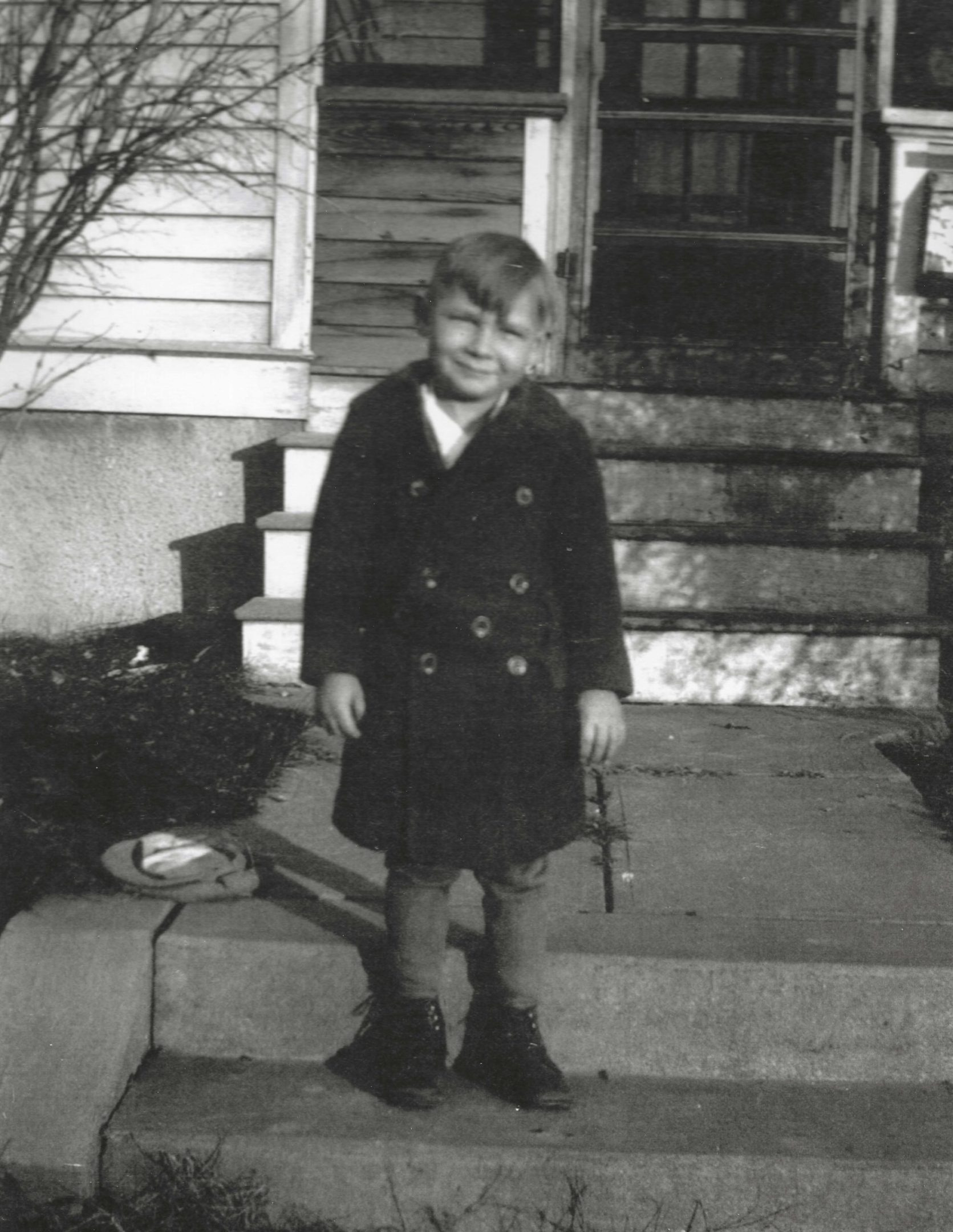 Photo of Virgil Crofter age 4