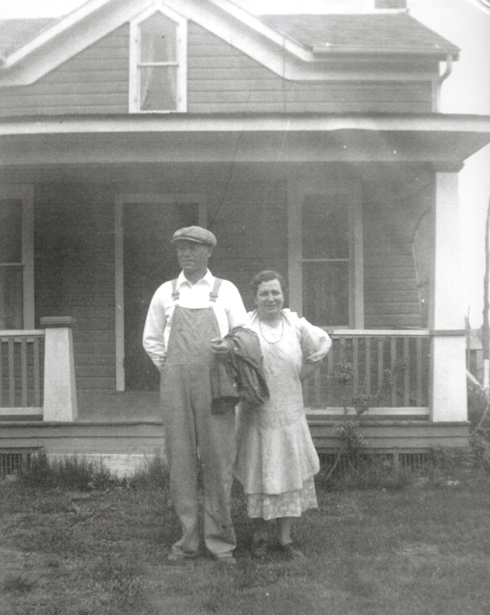 Photo of Wesley and Blanche Crofter